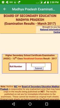 2018 Madhya Pradesh Exam Results - All Exam screenshot 7