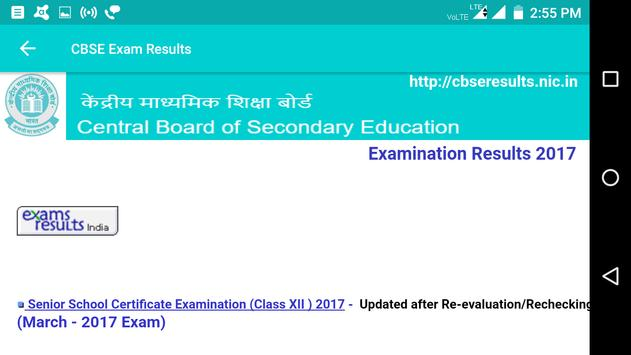 2018 CBSE RESULTS - ALL INDIA screenshot 3