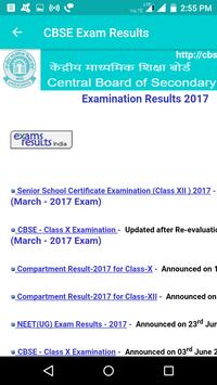 2018 CBSE RESULTS - ALL INDIA screenshot 1