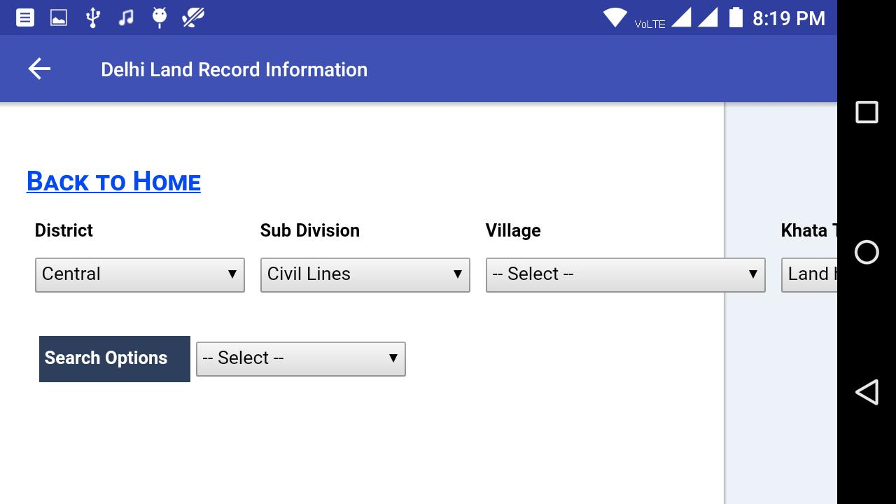 Delhi Land Records - ROR Reports for Android - APK Download