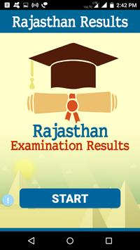 2018 Rajasthan Exam Results - All Examination poster