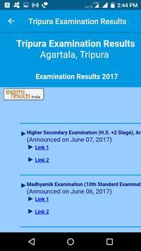 2018 Tripura Exam Results - All Examination screenshot 6