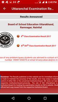 2018 Uttaranchal Exam Results - All Examination screenshot 1