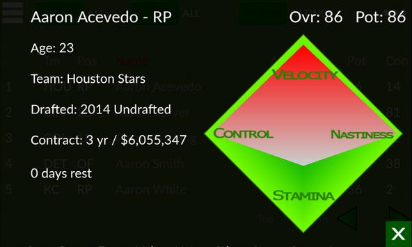Baseball GM apk screenshot