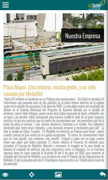 Plaza Mayor Medellin apk screenshot