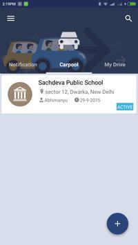 poolatschool - Carpooling App screenshot 5