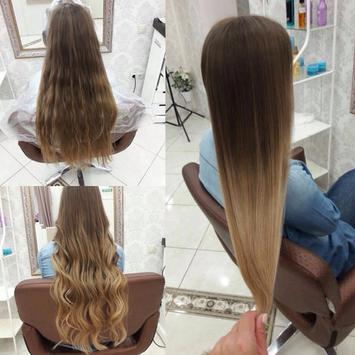 Youth hairstyles for a girl of poster
