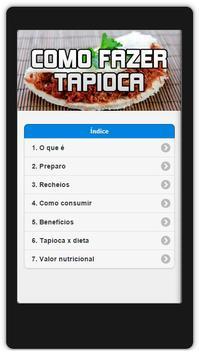 Como Fazer Tapioca poster