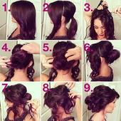 Simple hairstyles for every day for girls icon