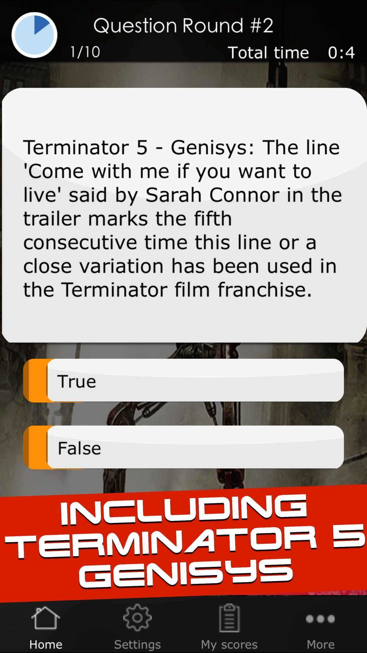 Quiz for the Terminator Movies for Android - APK Download