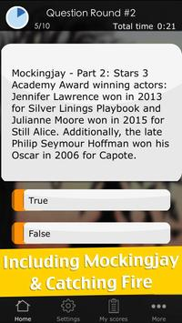 Quiz for The Hunger Games screenshot 1