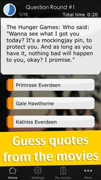 Quiz for The Hunger Games screenshot 2