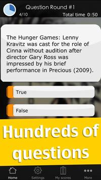 Quiz for The Hunger Games screenshot 3