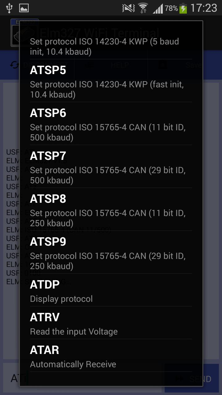 Elm327 WiFi Terminal for Android - APK Download