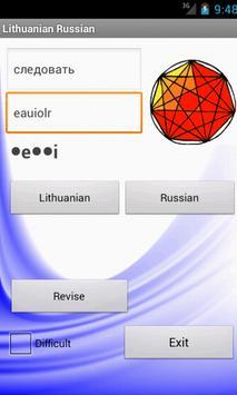 Russian Lithuanian Dictionary apk screenshot