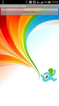 Bluetooth Rainbow Lamp poster