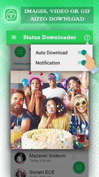 Auto Status Downloader for Whatsapp Status screenshot 2