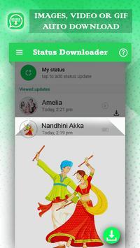 Auto Status Downloader for Whatsapp Status screenshot 3