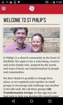 St Philip's Sheffield apk screenshot