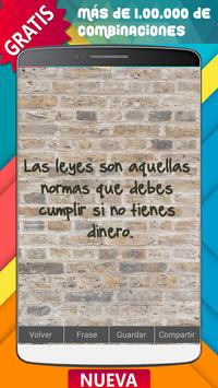 Frases y Sarcasmo poster