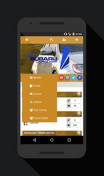 SUBARU Türkiye Forum screenshot 2