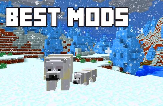 New mods for Minecraft PE स्क्रीनशॉट 1