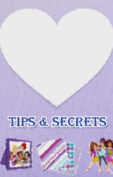 Guide For LEGO Friends Art poster