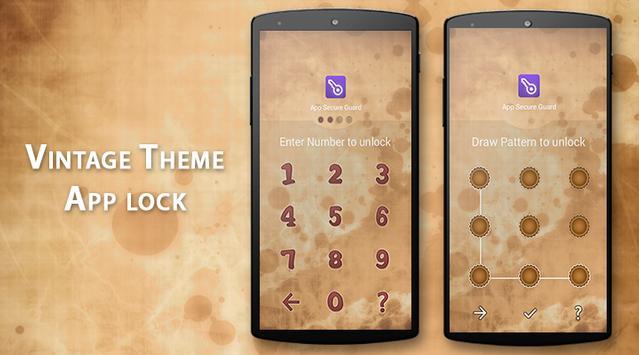 App Lock - Vintage Theme poster