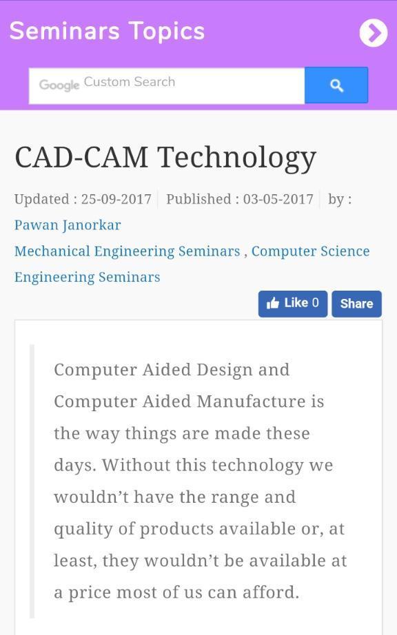 Seminar Topics For Android Apk Download