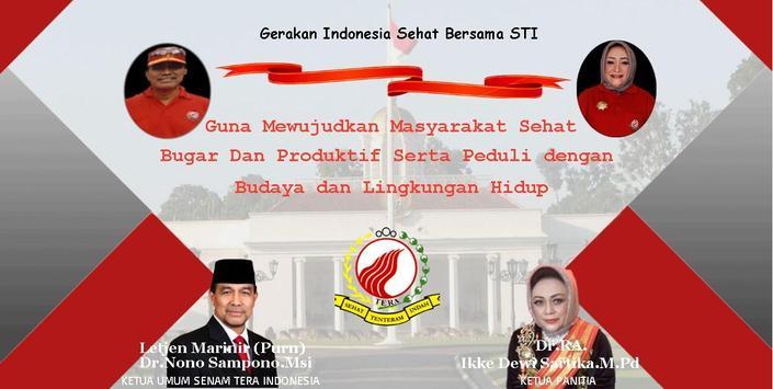 STI - Senam Tera Indonesia poster