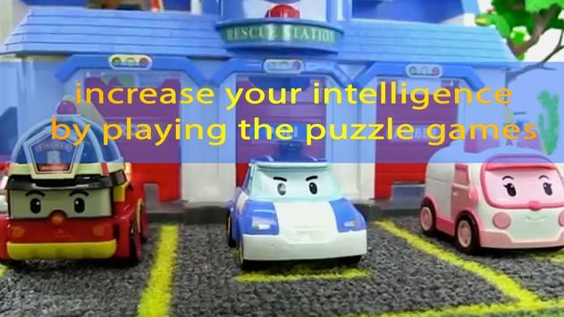 Poli Rescue Cars Puzzle poster