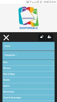 Shoponsale screenshot 2