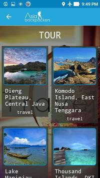 Asia Backpackers apk screenshot