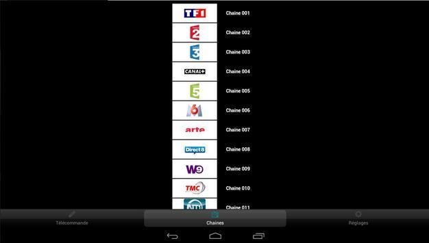 Freebox Telecommande apk screenshot