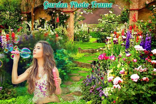 Garden Photo Frame screenshot 1
