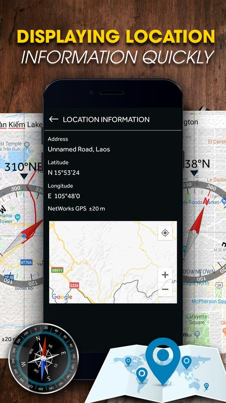 how to use compass in mobile without magnetic sensor