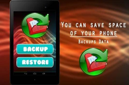 Backups Data poster