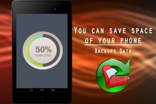 Backups Data apk screenshot