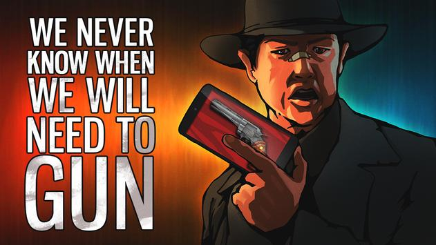Weapon simulator poster