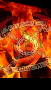 Tampa Fire Fighters Local 754 poster