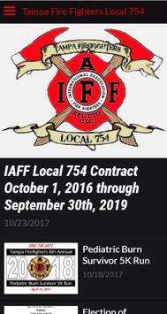 Tampa Fire Fighters Local 754 apk screenshot