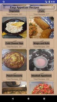 Easy Appetizer Recipes 포스터