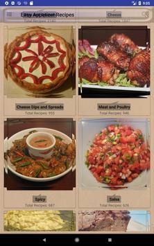 Easy Appetizer Recipes 스크린샷 7