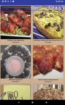 Easy Appetizer Recipes 스크린샷 8