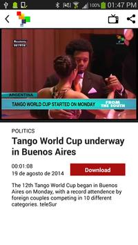 teleSUR English Multimedia apk screenshot