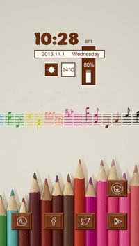 A Colored Pencil poster