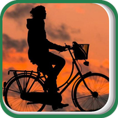 A Man on Bicycle icon