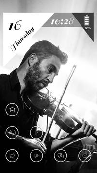 A Man Playing the Violin poster