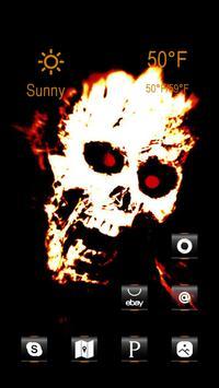 Angry Skeleton Head screenshot 1