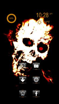 Angry Skeleton Head screenshot 2